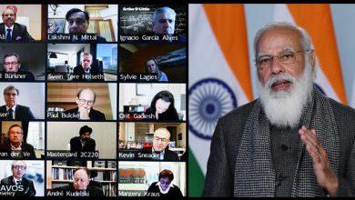 Photo of विश्व आर्थिक मंच की दावोस वार्ता में प्रधानमन्त्री के संबोधन का मूल पाठ