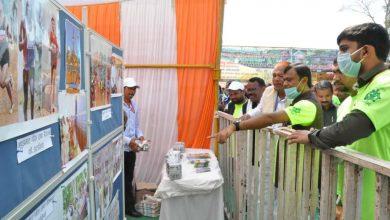 Photo of नारायणपुर : सांसद दीपक बैज ने जनसंपर्क की प्रदर्शनी का किया अवलोकन