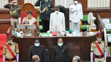 Photo of रायपुर : राज्यपाल सुश्री उइके के अभिभाषण के साथ शुरू हुआ विधानसभा का बजट सत्र