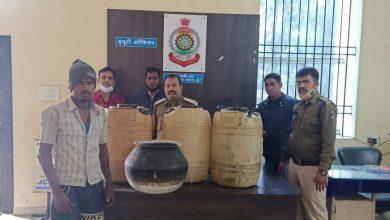Photo of चक्रधरनगर पुलिस-शराब रेड कार्यवाही