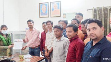 Photo of कल्याणपुर करौटी मार्ग की समस्या को लेकर लटोरी मंडल के कार्यकर्ताओं ने तहसीलदार को सौंपा ज्ञापन।