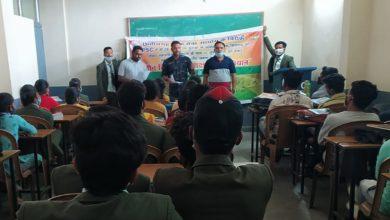 Photo of कोरबा : भारतीय जनता युवा मोर्चा जिला कोरबा का छ. ग. पी. एस. सी.के विरुद्ध तीन दिवसीय युवा अधिकार हस्ताक्षर महाभियान संपन्न, 15 हजार से अधिक युवाओं तक पहूँचे कार्यकर्ता।