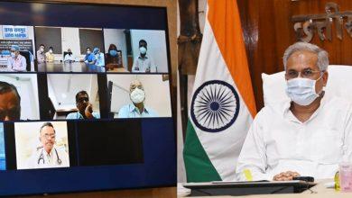 Photo of रायपुर : मुख्यमंत्री ने रेमडेसीवीर की सुचारू आपूर्ति सुनिश्चित करने वरिष्ठ अधिकारियों को हैदराबाद और महाराष्ट्र भेजने के दिए निर्देश