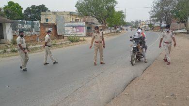 Photo of सुरजपुर : लाकडाउन के तीसरे दिन सूरजपुर पुलिस का कड़ा पहरा।