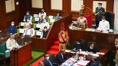 Photo of राज्यपाल सुश्री उइके के अभिभाषण के साथ शुरू हुआ विधानसभा का बजट सत्र : रायपुर, 22 फरवरी 2021